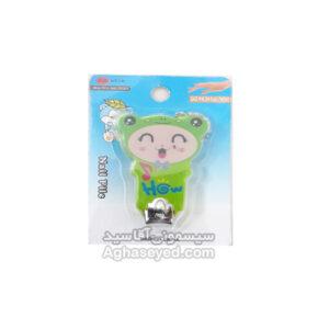 ناخن گیر تک نوزاد طرح عروسکی کد 00201410