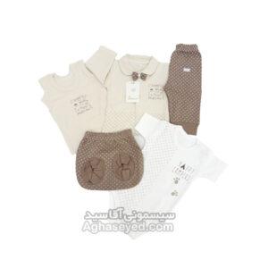 پنج تکه لباس مارک دانالو کد 00201222