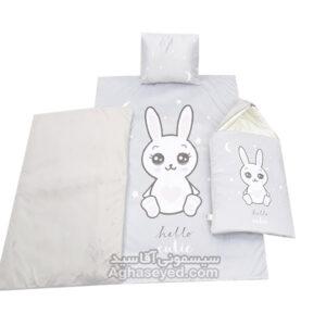 خواب مخمل چاپی طرخ خرگوش کد00201155