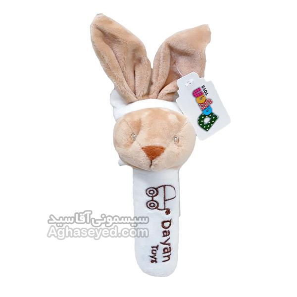 جغجغه سوسیسی طرح خرگوش مارک دایان کد00202934