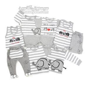 لباس تیکه ای طرح فیل کد00201365