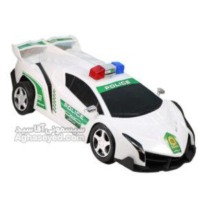 ماشین اسباب بازی طرح لامبورگینی پلیس کد00201448