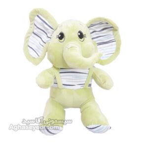 عروسک پولیشی طرح فیل 45 سانتی کد 00202902