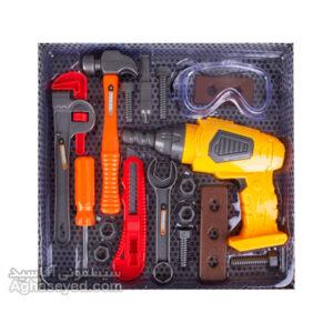 ست ابزار اسباب بازی باطری خور 36778 کد00202728