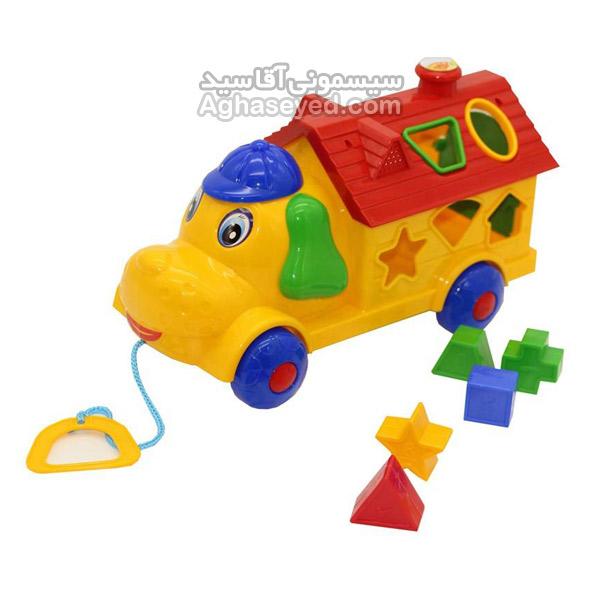 ماشین اسباب بازی هپی پاپی مارک تک تویز کد00201086