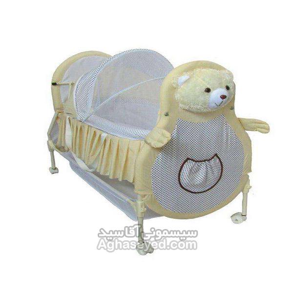 گهواره نوزاد طرح خرس مارک سانیکو کد00201373