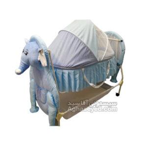 گهواره نوزاد طرح فیل مارک سانیکو کد00201373