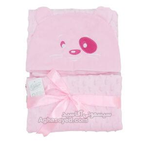 پتو دورپیچ نوزاد طرح خرس یونیک کد00201064