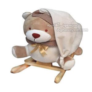 راکر کودک طرح خرس هانی ناز کد00201993