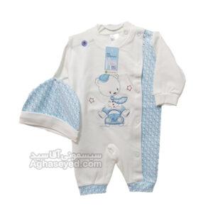 لباس سرهمی نوزادی مامانی759 کد00206033