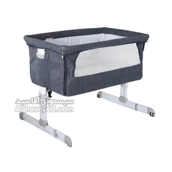 تخت کنار مادر نوزاد طرح ویرا دلیجان با سایه بان کد00208001