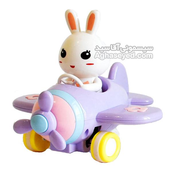 هواپیما قدرتی طرح خرگوش 3540 کد00205232