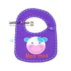 پیشبند نوزادی کوکالو طرح Moo Moo کد00206043