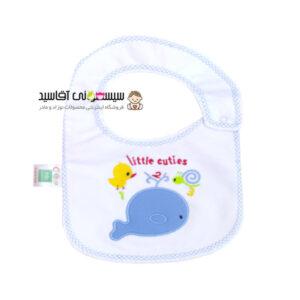 پیشبند نوزادی کوکالو طرح 3 2 1 کد00206043