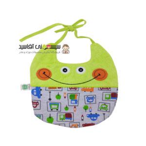 پیشبند نوزادی کوکالو طرح لبخند کد00206219